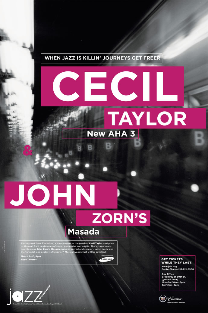Jazz at Lincoln Center Cecil Taylor