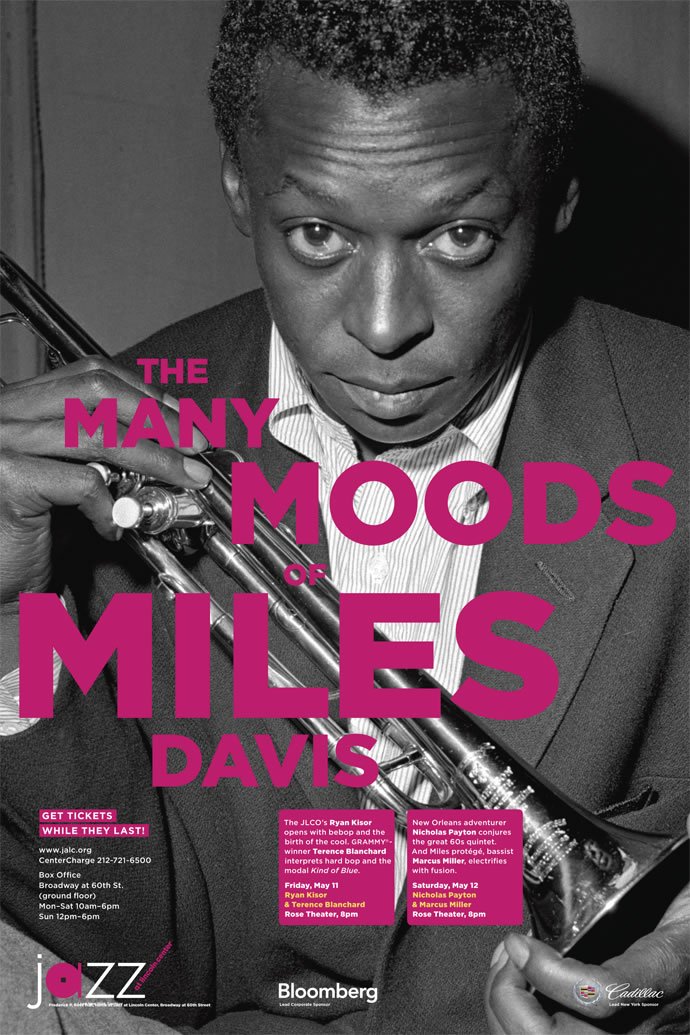 Jazz at Lincoln Center Miles Davis Poster