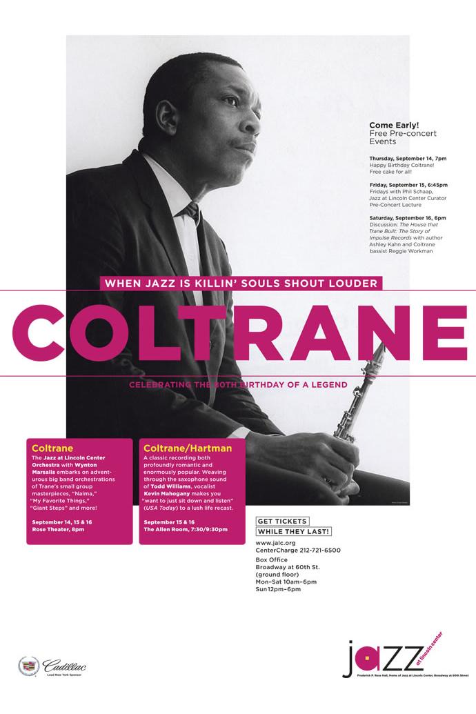 John Coltrane Jazz Poster