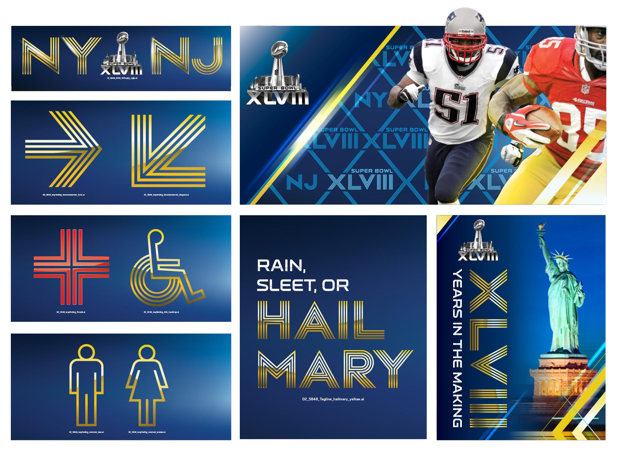 Superbowl 48 letter system