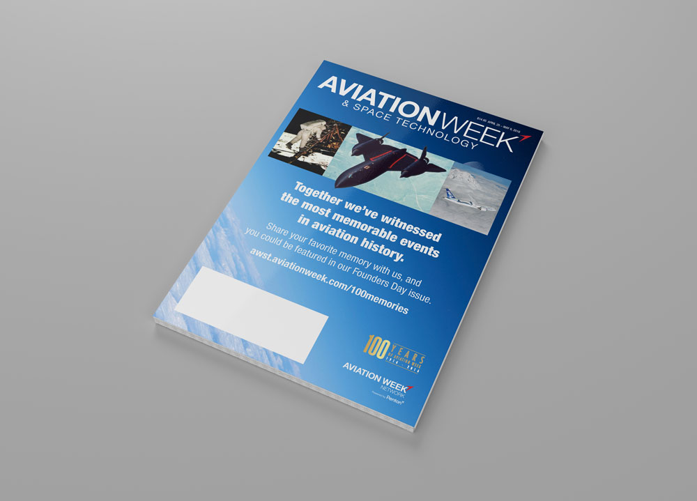 Aviation Week Centennial Cover
