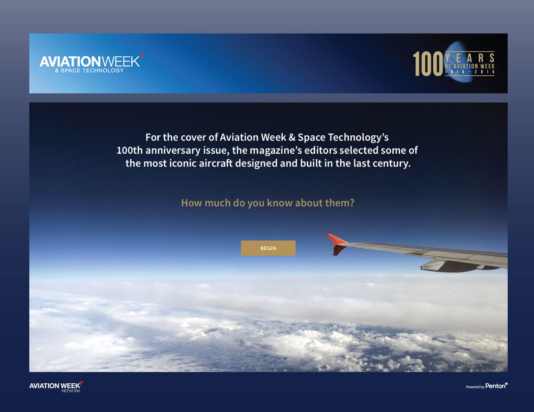 Aviation Week Boeing interactive kiosk design