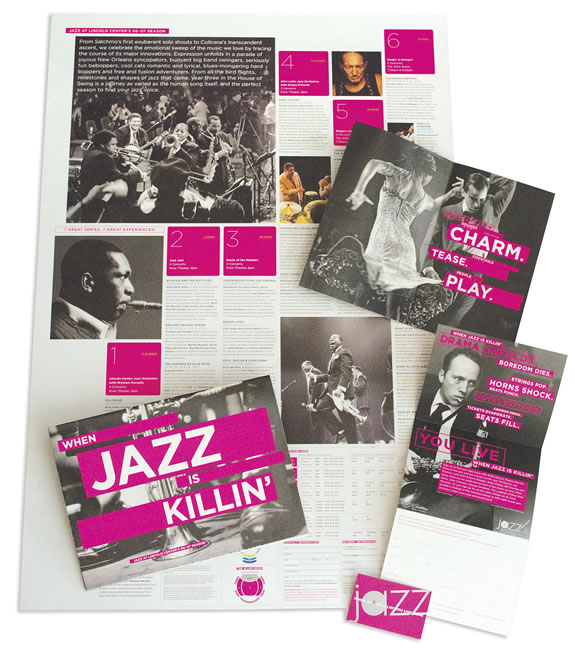 Jazz at Lincoln Center Subscription Brochures