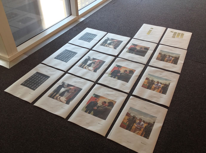 Times Premiere print proofs