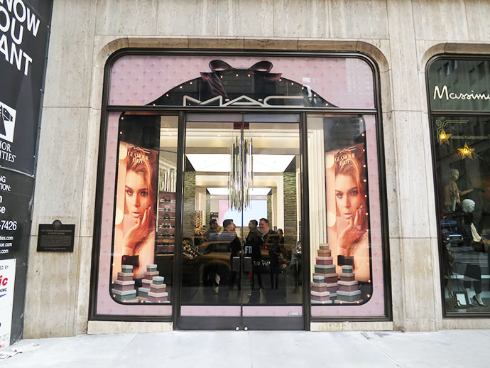 MAC 5th Avenue NY Window